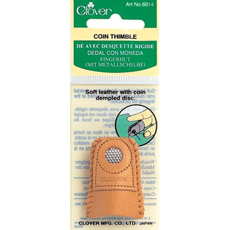 Clover Coin Thimble (Medium) 6014