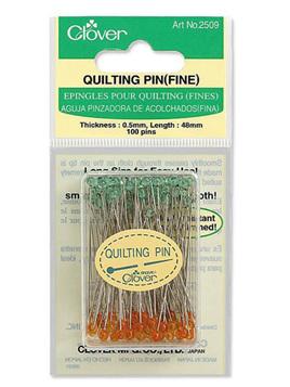 Clover Fine Quilting Pins 2509