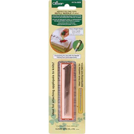 Clover Needle Felting Tool Needle Refil (Heavy Weight)