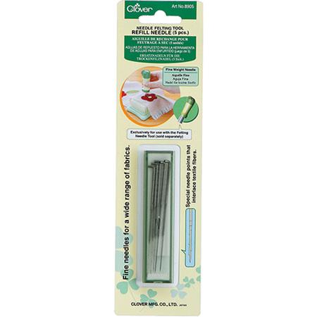 Clover Needle Felting Tool Needle Refill (Fine Weight)
