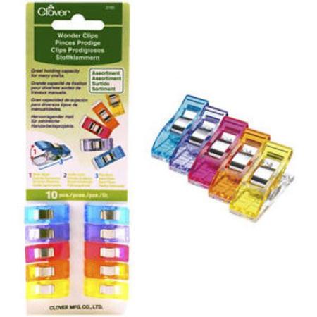 Clover Wonder Clips - 10 Pack