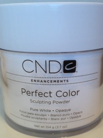 CND Perfect Color - Pure White Opaque 104g