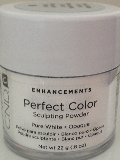 CND Perfect Color - Pure White Opaque 22g