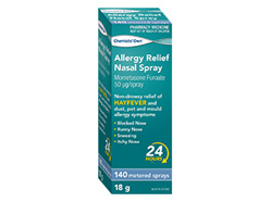 CO ALLERGY RELIEF NASAL SPY 140