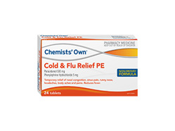 CO COUGH COLD FLU D&N PSE 24T