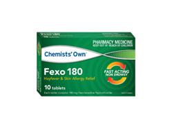 CO FEXO 180MG 10