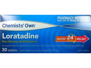 CO LORATADINE TAB 10MG 30
