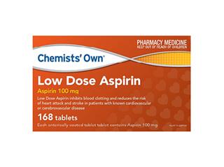 CO LOW DOSE ASPIRIN TABS 168