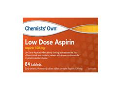 CO LOW DOSE ASPIRIN TABS 84