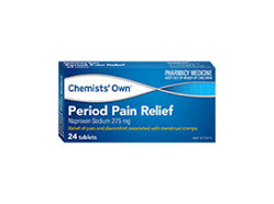 CO PERIOD PAIN TABS 24'S