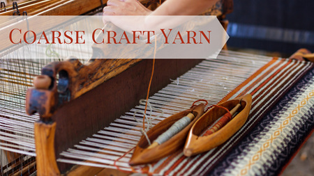 COARSE CRAFT YARN