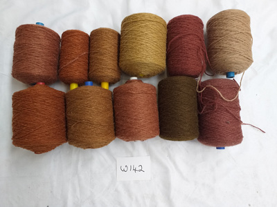 Coarse Craft Yarn Assorted colours W-142