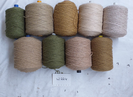 Coarse Craft Yarn Assorted Colours  W-224