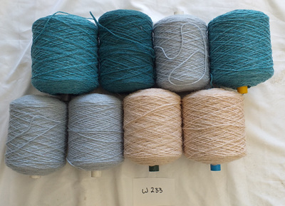 Coarse Craft Yarn Assorted Colours  W-233