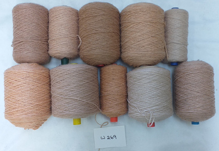 Coarse Craft Yarn Assorted Colours  W-269