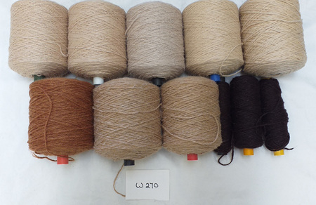 Coarse Craft Yarn Assorted Colours  W-270