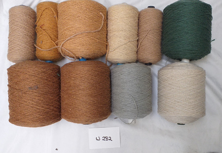 Coarse Craft Yarn Assorted Colours  W-282