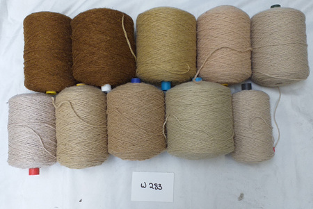 Coarse Craft Yarn Assorted Colours  W-283