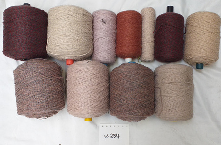 Coarse Craft Yarn Assorted Colours  W-284