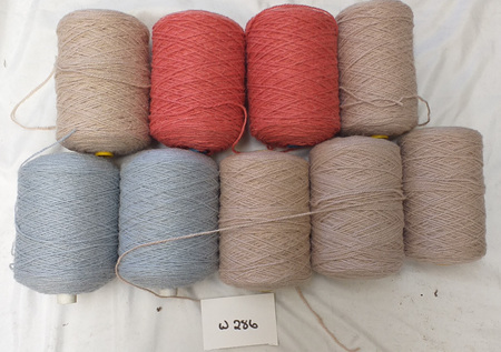 Coarse Craft Yarn Assorted Colours  W-286