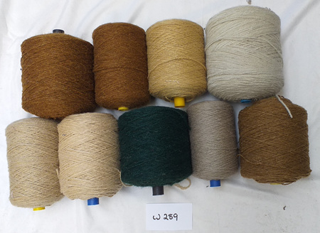 Coarse Craft Yarn Assorted Colours  W-289
