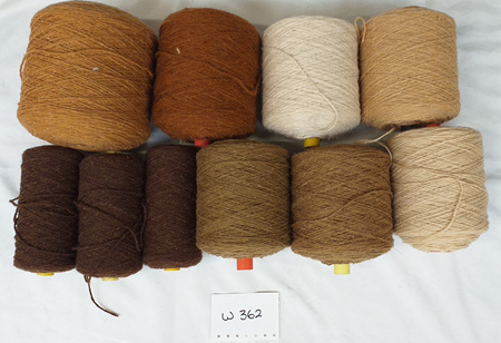 Coarse Craft Yarn Assorted Colours  W-362
