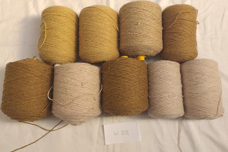 Coarse Craft Yarn Assorted Colours  W-371