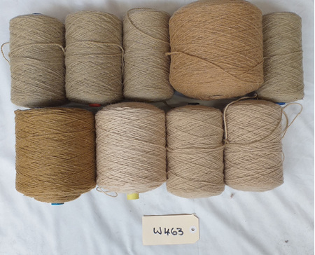 Coarse Craft Yarn Assorted Colours  W-463