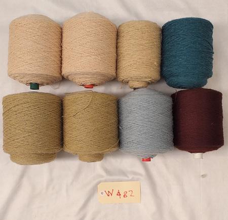 Coarse Craft Yarn Assorted Colours  W-482