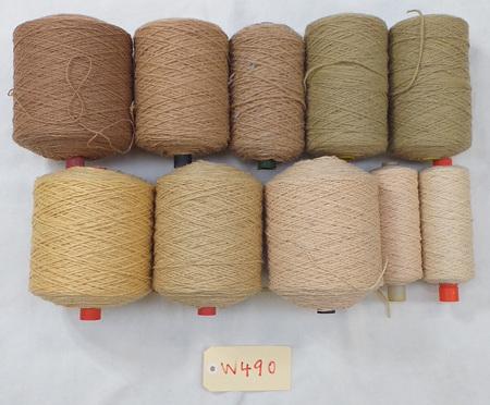 Coarse Craft Yarn Assorted Colours  W-490