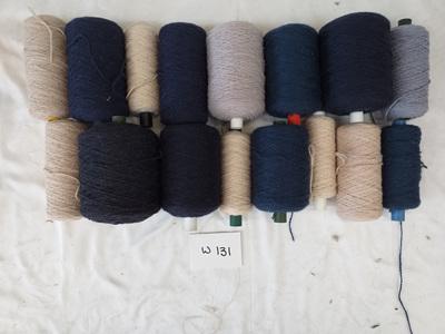 Coarse Craft Yarn Blues Tones W-131