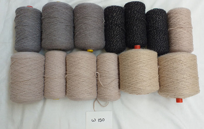 Coarse Craft Yarn Grey Tones W-150