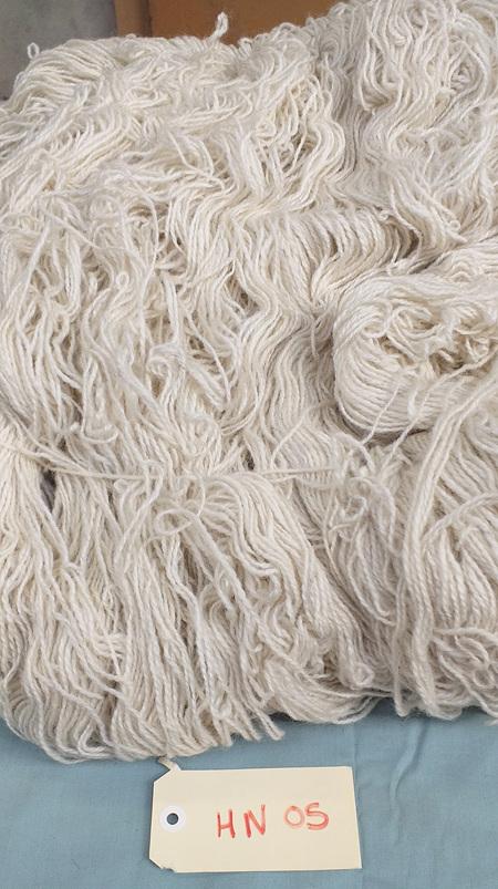 Coarse Craft Yarn  On Hank  Natural  HN 05