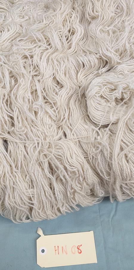 Coarse Craft Yarn On Hank Natural HN 08