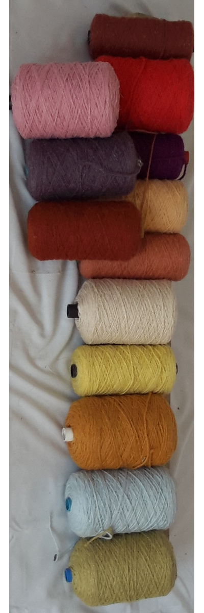 Coarse Yarn Assortment of Colours 2