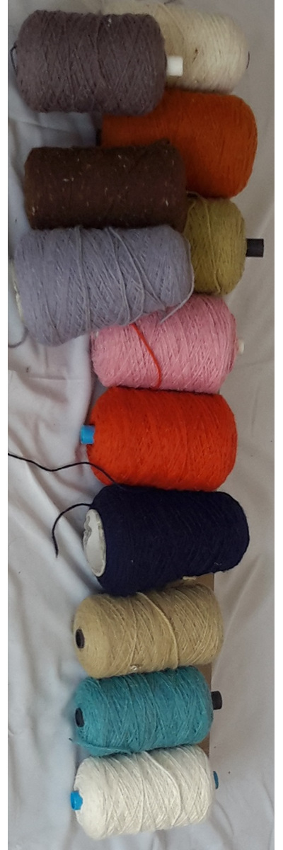 Coarse Yarn Assortment of Colours