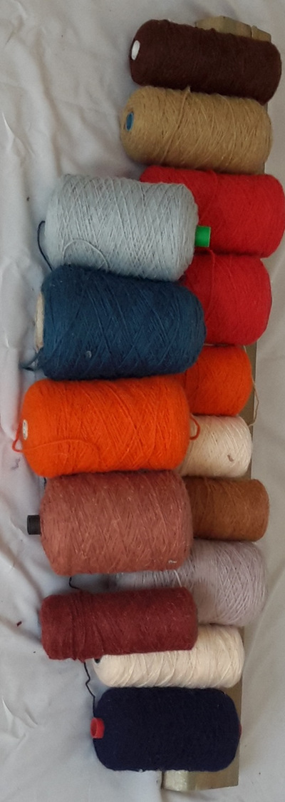 Coarse Yarn Assortment of Colours 3