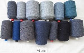 Coarse Yarn Blue Tones 020