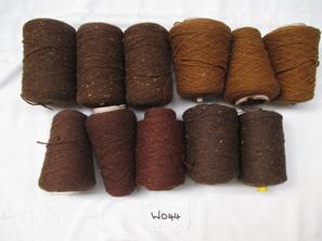 Coarse Yarn  Dark and Rich Chocolate  Tones