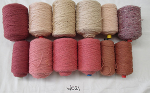 Coarse Yarn W021 Pink tones