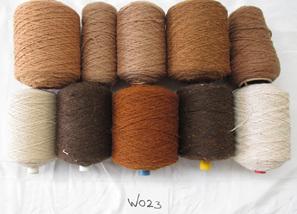 Coarse Yarn  W023  Brown Tone Colours