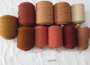 Coarse Yarn  W025  Rustic Earthy Colours
