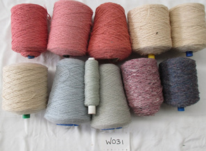 Coarse Yarn  W031  Pink & Blue Colours
