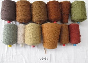 Coarse Yarn  W033  Earthy Colours of  Nature