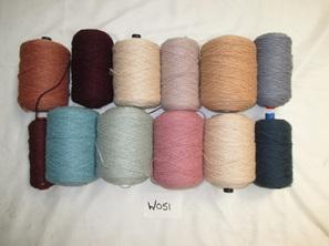 Coarse Yarn W051  Soft  Tone  Assortment of Colours