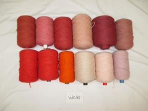 Coarse Yarn  W055 Pinks Terrcotta  plus more