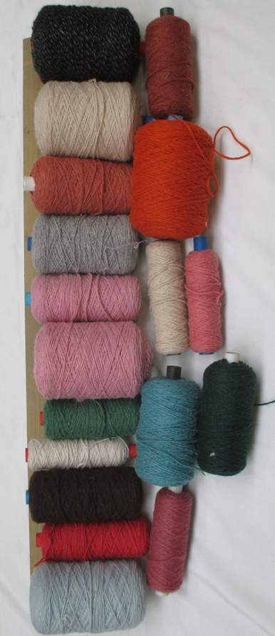Coarse Yarn  W101  Assorted Colours