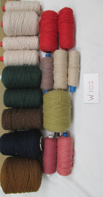 Coarse Yarn W102 Assorted Colours