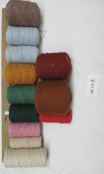 Coarse Yarn  W103 Assorted Colours