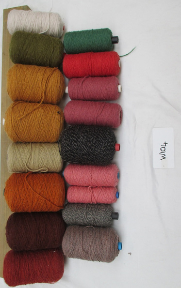 Coarse Yarn W104 Assorted Colours